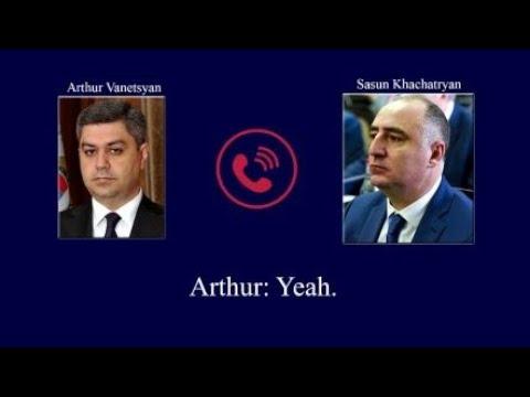 """Ermənistanda QALMAQAL: Xüsusi xidmət orqanlarının """"SƏS YAZISI"""" Yayıldı!"""