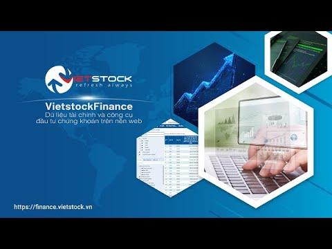 Hướng dẫn truy xuất dữ liệu tài chính trên VietstockFinance