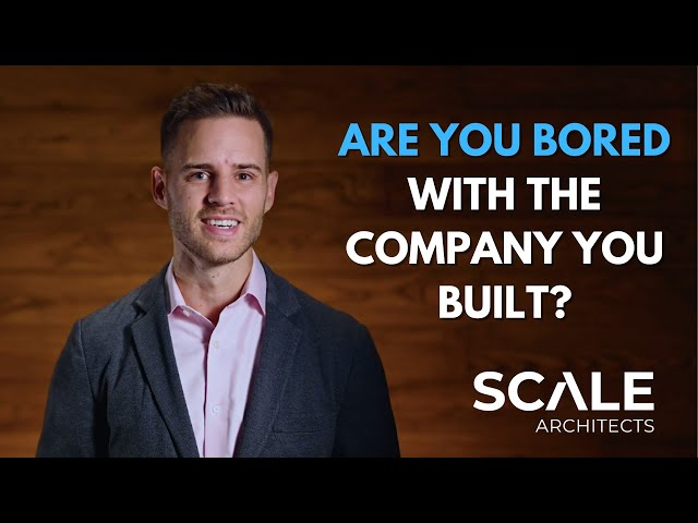 Are you bored with the company you built?