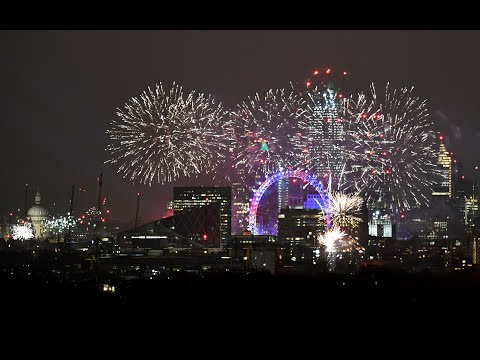 Watch again: Fireworks and festivities as world welcomes 2019 Mp3