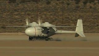 Unmanned, Untethered -- Boeing Phantom Eye Races Down Runway