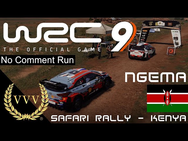 WRC 9 Kenya Ngema stage   No Comment Run