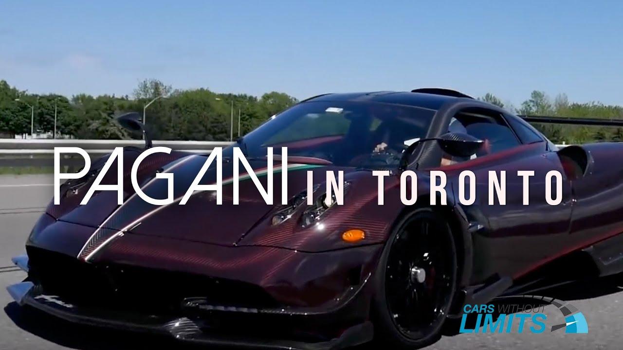 2.5 Million Dollar Huayra BC KingTasma in Toronto - YouTube