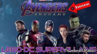 Avengers End game CUSTOM LEGO DC Super-Villains Character showcase