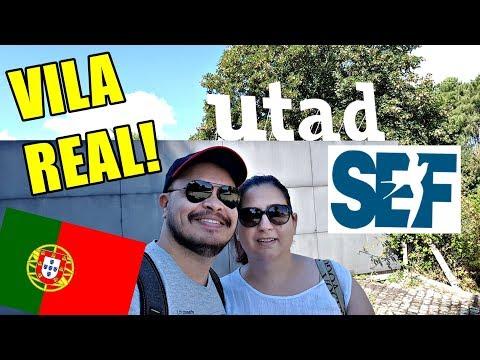 Vila Real (Portugal) SEF - UTAD e MUITO mais! 🔴