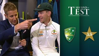 Take a tour through the Australian dressing rooms