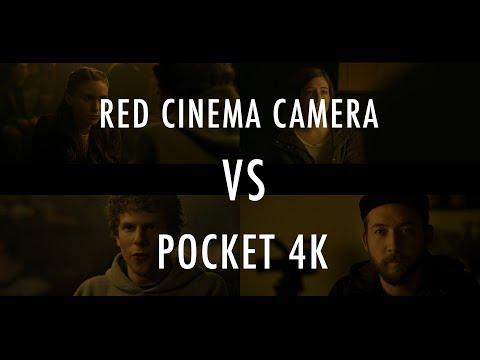 Blackmagic Pocket 4k VS Hollywood Movie Camera   Red Dragon