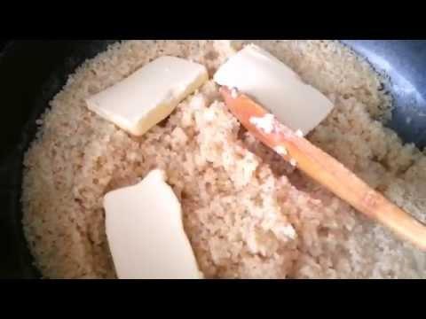 Пшеничная каша.Как сварить пшеничную кашу на воде с маслом