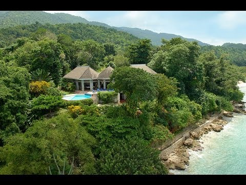 Jamaica Beach House Travel Tour - Family Vacation At Bluefields Bay Villas