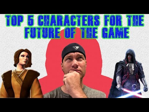 TOP 5 CHARACTERS to Farm for the Future! Star Wars Galaxy of Heroes | SWGOH