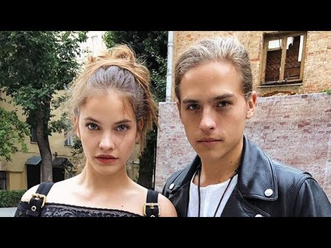 Dylan Sprouse Wears SERPENT Jacket With Rumored GF Model Barbara Palvin?