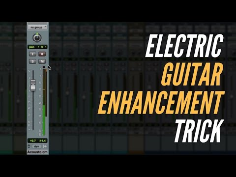 Guitar Enhancement Mixing Trick – TheRecordingRevolution.com