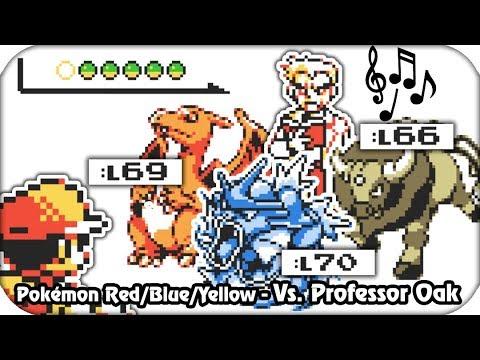 Pokémon Red/Blue/Yellow - Final Battle! Professor Oak (1080p60)