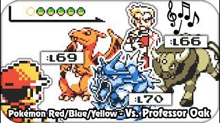 Pokémon Red/Blue/Yellow - Final Battle! Professor Oak [HQ]