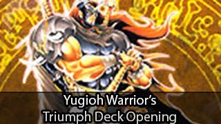 Yugioh Warriors Triumph Structure Deck Opening