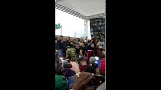 Twerk contest at the Cannabis Cup 2015 Denver