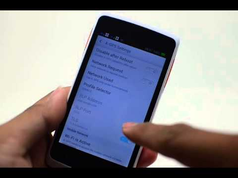 Oppo Find Muse R821 Gps Setting Youtube