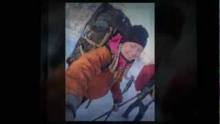 Hikes`n Trails skiing tour at the eastern border of EU
