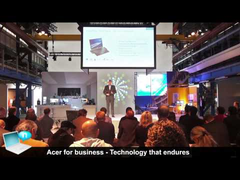 Acer commercial event Amsterdam - Travelmate P645, X313, Chromebook C720