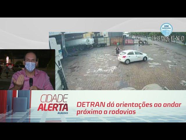 DETRAN dá orientações ao andar próximo a rodovias
