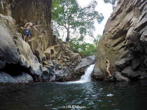 Costa Rica: Poza Pénjamo - Ciudad Colón ¡ Qué buen lugar! HD