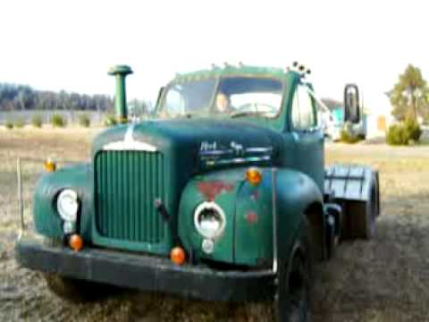 1963 Mack B61 unishift running truck a look of the out ...