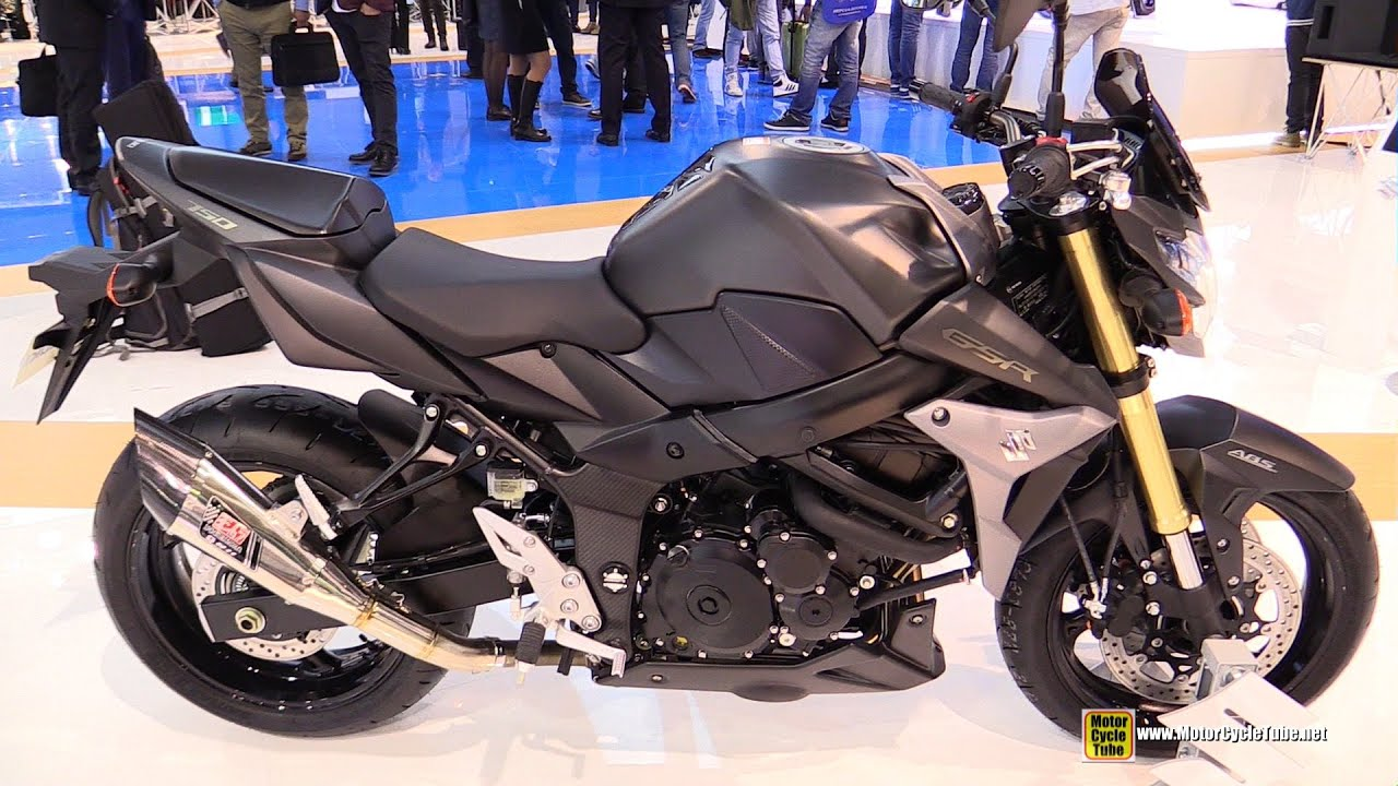 2016 suzuki gsr750 abs walkaround 2015 eicma milan youtube. Black Bedroom Furniture Sets. Home Design Ideas