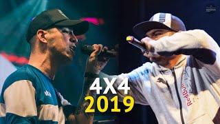 Los 4x4 MÁS ADICTIVOS del AÑO 2019   Batalla de Gallos