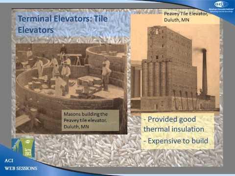 Concrete Grain Elevators: Their Early Design, Construction, Successes, and Failures