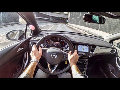 Opel Astra K 2020 | POV Test Drive #436 Joe Black