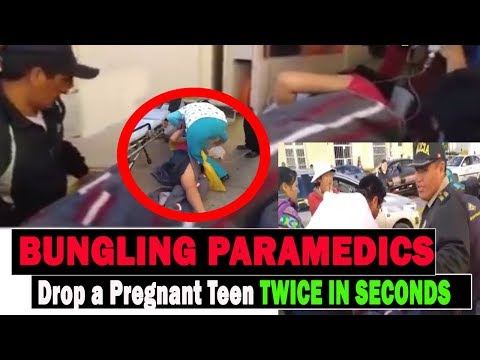 Pregnant Teenager Dropped Twice By Clumsy Paramedics As She Is Transport From Ambulance To Hospital