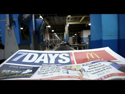 7DAYS: Day in the life of your favourite UAE newspaper