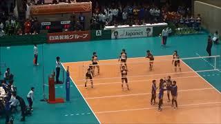 富山第一高校(富山)vs 盛岡誠桜高校(岩手)~春高バレー2018・女子2回戦~