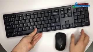 [Topgear.vn] Phím chuột không dây Fuhlen A120G