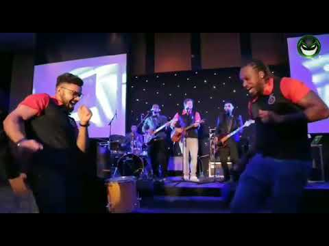 Chris gayle and virat dance on rcb party