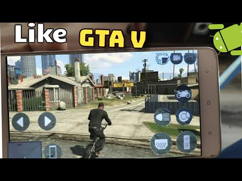 Top 10 Games Like GTA V For Android 2018 HD [DroidGames]