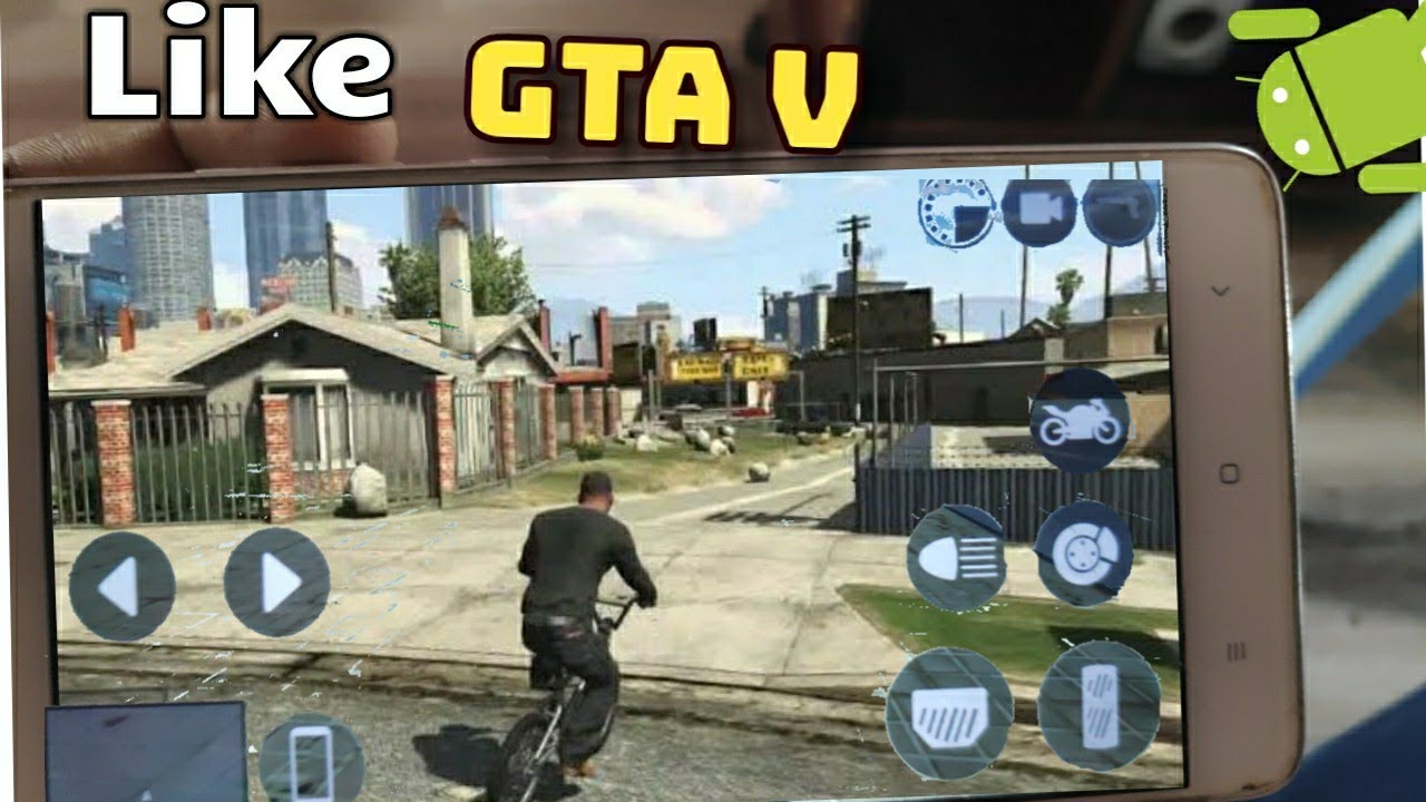Download Top 10 Games Like GTA V For Android 2018 HD [DroidGames]