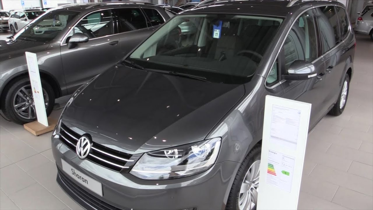 2016 volkswagen sharan in depth review interior exterior youtube. Black Bedroom Furniture Sets. Home Design Ideas