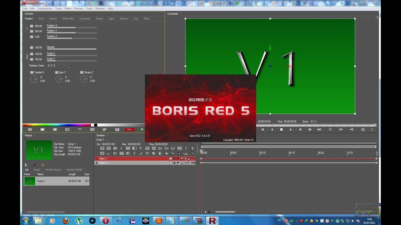 boris red 5.5 for edius 7 free download