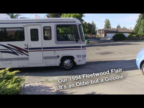 Tour of our 1994 Fleetwood Flair Motorhome.