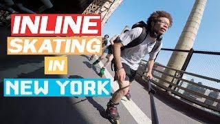 INLINE SKATING IN NEW YORK - BIG APPLE ROLL 2018