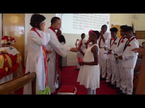 Spring Valley United Methodist Church confirmation 2017