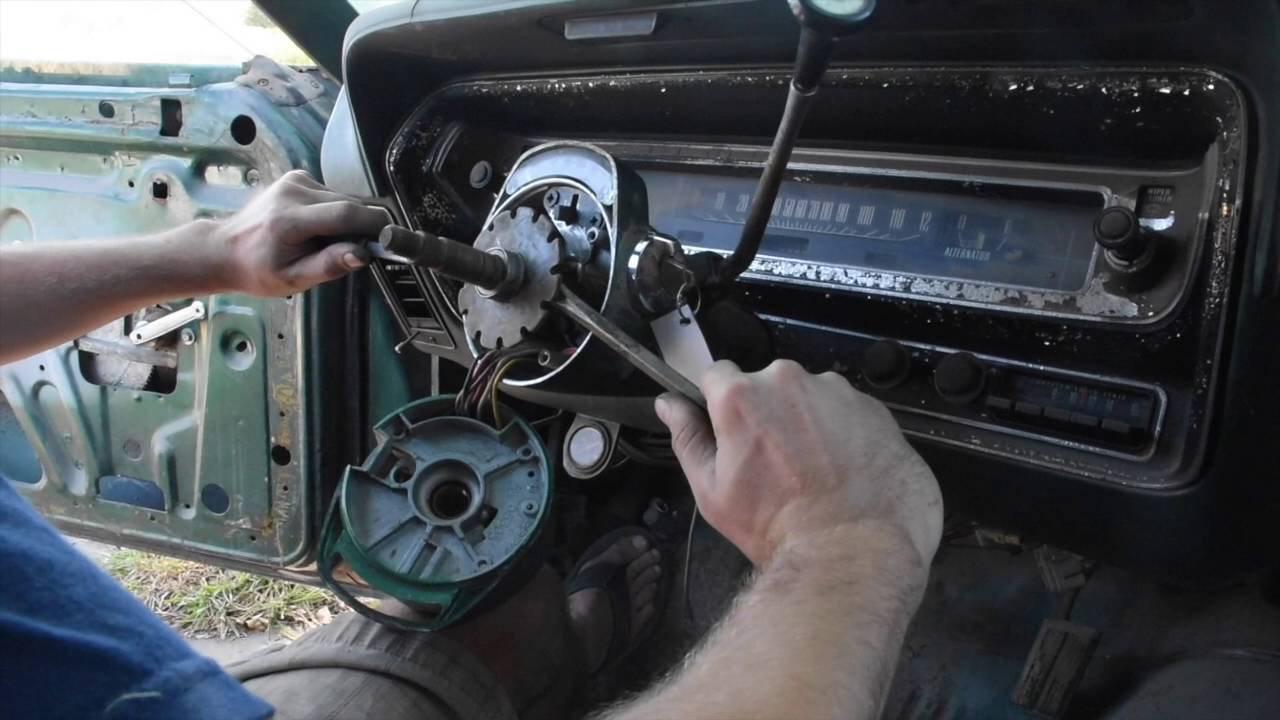 How To Replace Ignition Cylinder In A 1974 Dodge Charger Youtube Challenger Wiring Diagram