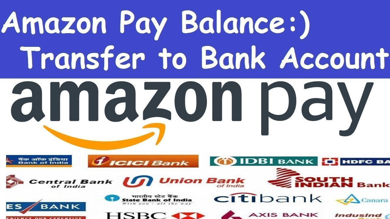 can we transfer amazon pay balance to bank account