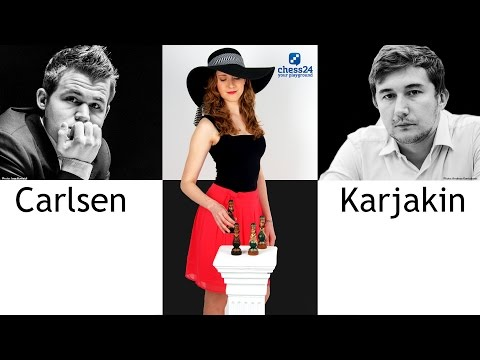 Miss Strategy's Middlegame Show: Carlsen and Karjakin