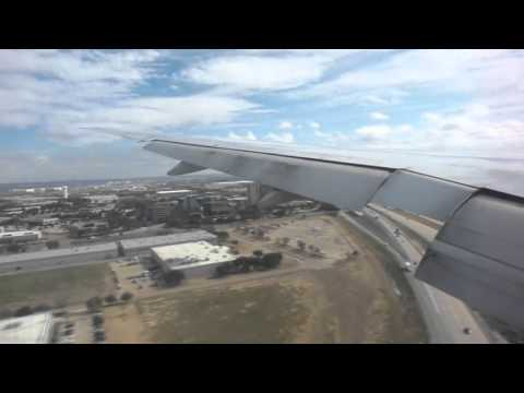 American Airlines 777-223ER Landing in Dallas-Fort Worth