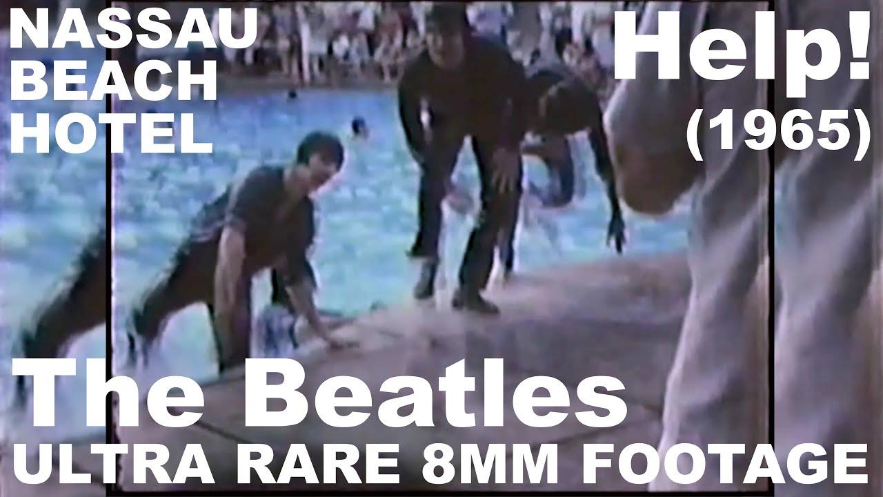 Download The Beatles: Help! - Ultra RARE 8mm video footage - Nassau Beach Hotel 1965 (4K)