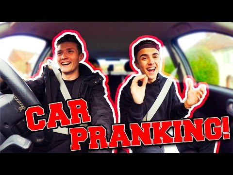 CARPOOL KARAOKE & PRANKS!!
