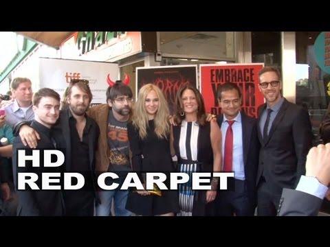 Horns: Daniel Radcliffe & Juno Temple TIFF Premiere Group Pictures