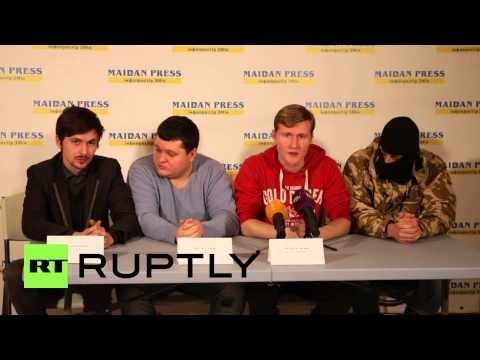 Ukraine: 'Russian Rebel Army' launches in Kiev, aims 'gun' at Russian govt